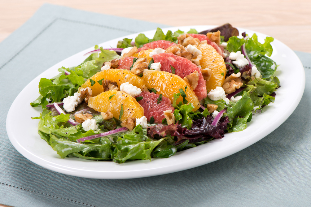 Citrus-Herb Salad with Poppy Seed Dressing