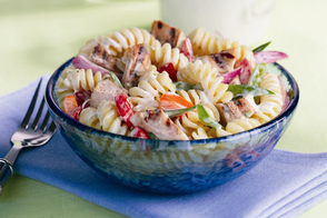 Peppercorn Ranch-Chicken Pasta Salad