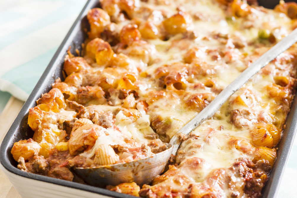 Make-Ahead Bolognese Pasta Bake