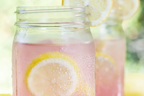 Lemonade-Strawberry Quencher