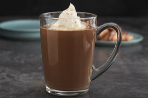 Eggnog Hot Chocolate