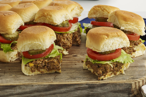 Mini-burgers au fromage Sloppy Joe