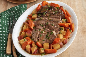Pot Roast with Potatoes & Carrots