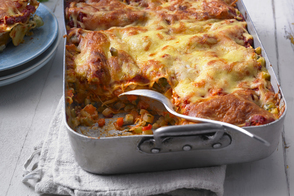 Beefed-Up Vegetable Lasagna