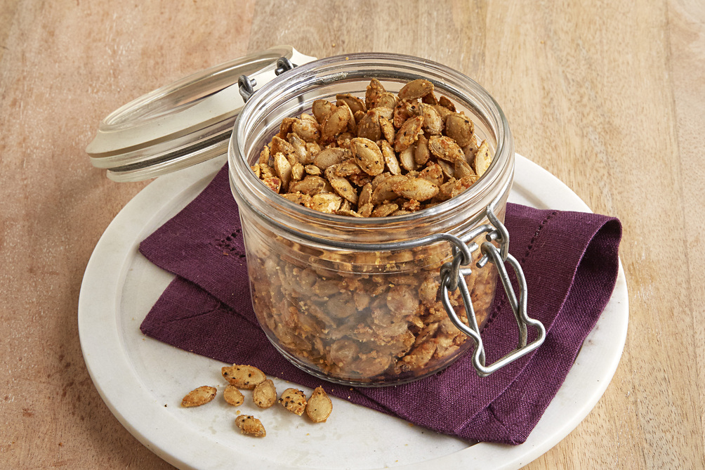 Savoury Roasted Pumpkin Seeds