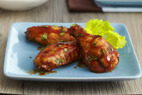 Easy Spicy-BBQ Chicken Wings