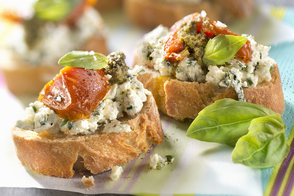 Greek Appetizer Crostini
