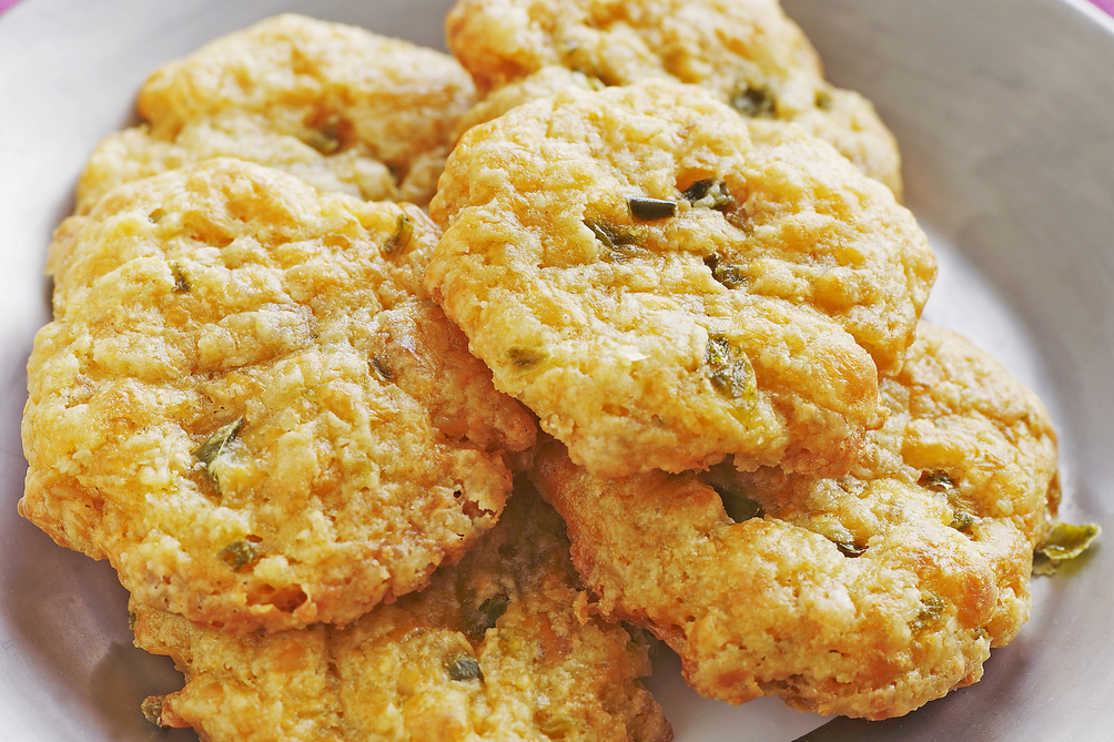 Savoury Cheddar-and-Herb Brunch Biscuits