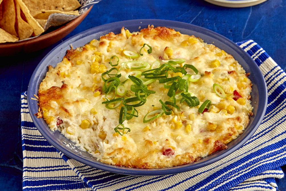 Hot Crab & Corn Dip