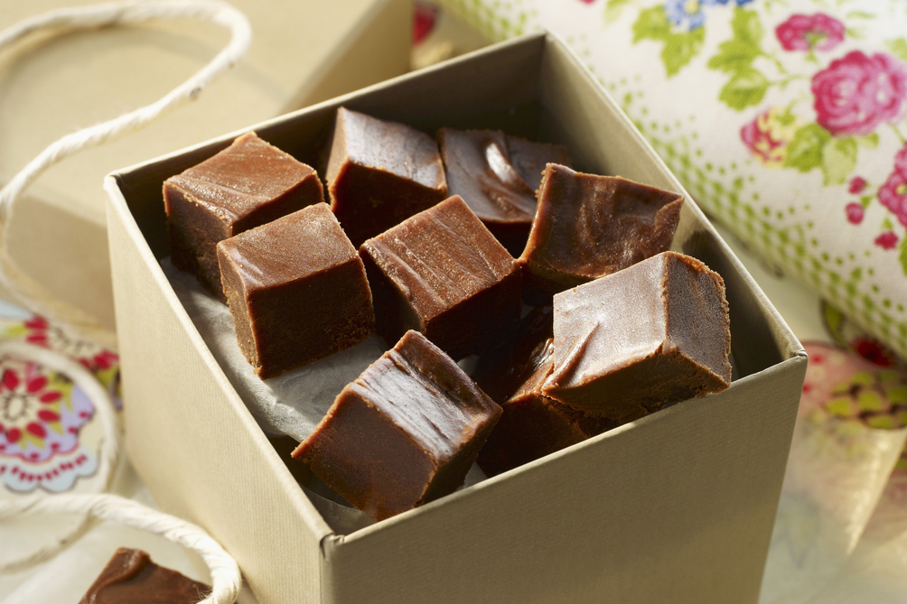 Easy Mocha Fudge