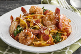 Garlic-Shrimp and Broccolini Pasta