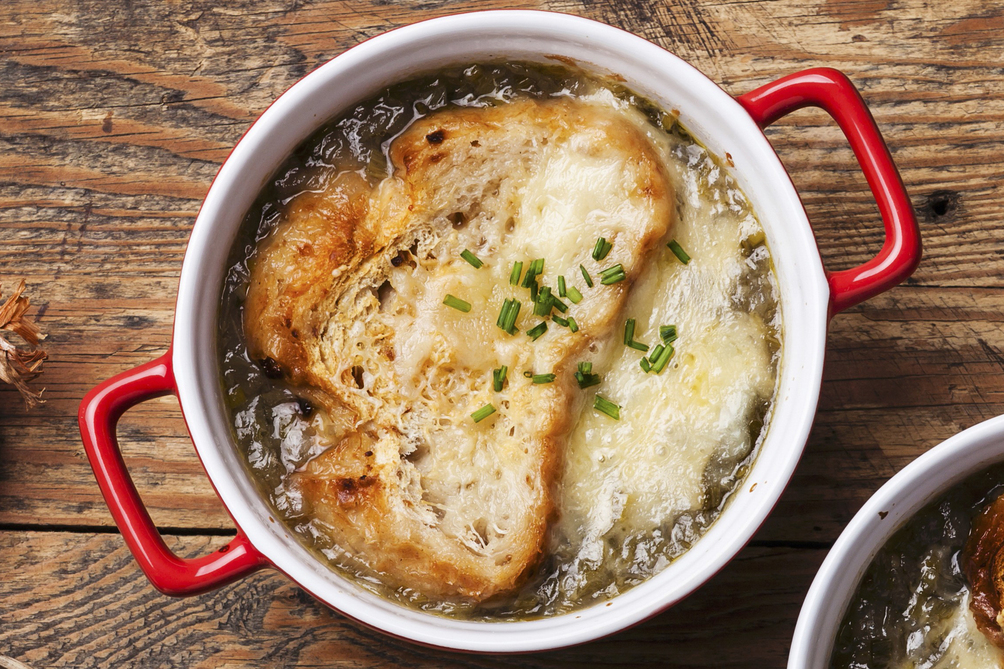 Three-Onion French Onion Soup