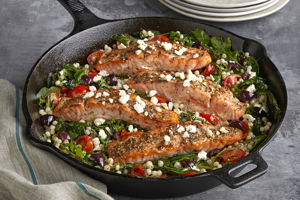Middle Eastern Za'atar Salmon