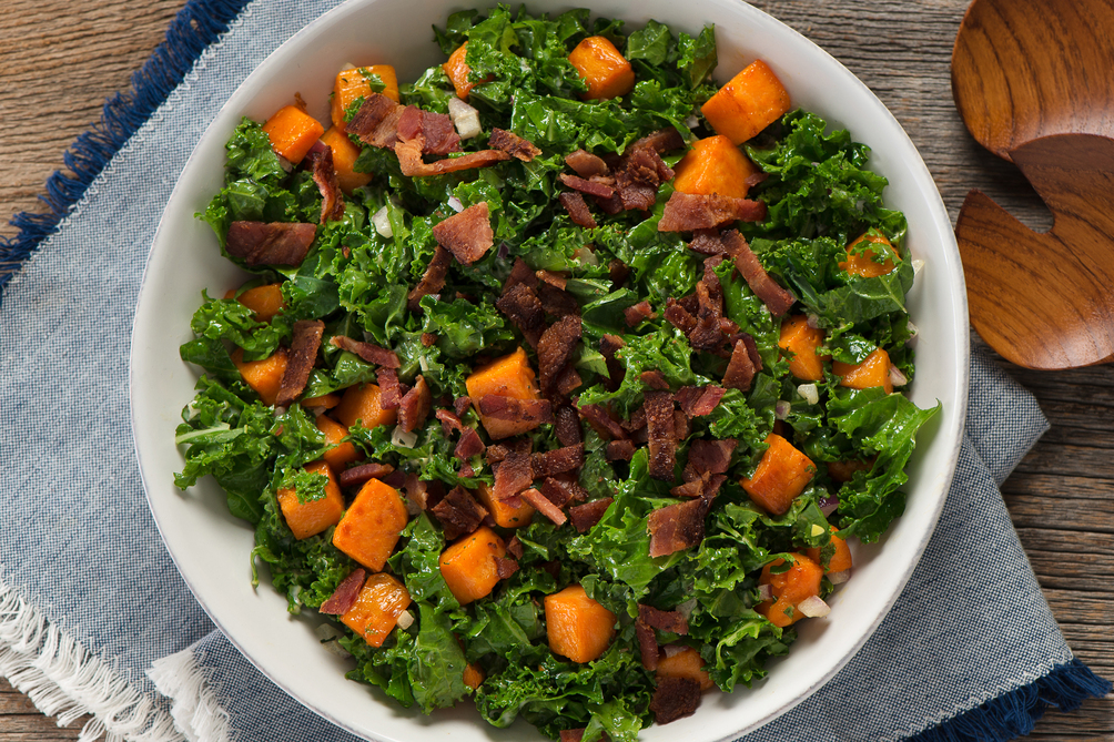 Kale and Sweet Potato Salad