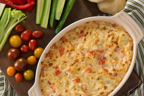 Creamy Red Pepper and Artichoke Dip