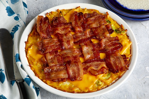 Bacon-Mac & Cheese Frittata