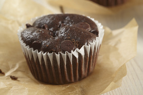 Muffins brownies aux haricots noirs