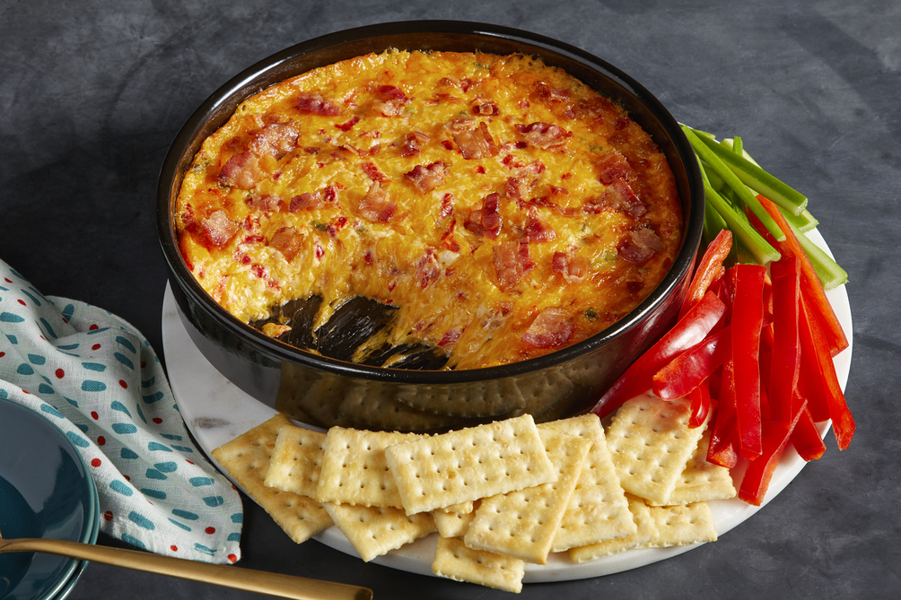 Bacon-Pimento Cheese Dip