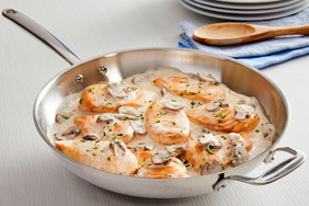 Skillet Chicken & Mushrooms