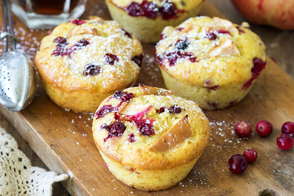 Cranberry-Apple Muffins