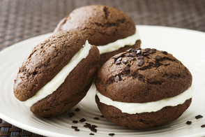Double-Chocolate Whoopie Pies