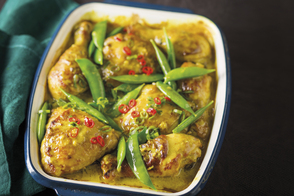 Turmeric-Coconut Baked Chicken