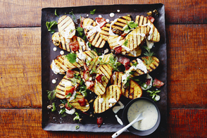 Grilled Potatoes with Bacon