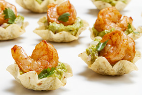 Shrimp & Guacamole Cups