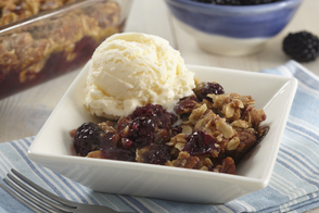 Easy Blackberry Crisp