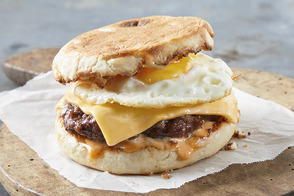 Deluxe Breakfast Burger