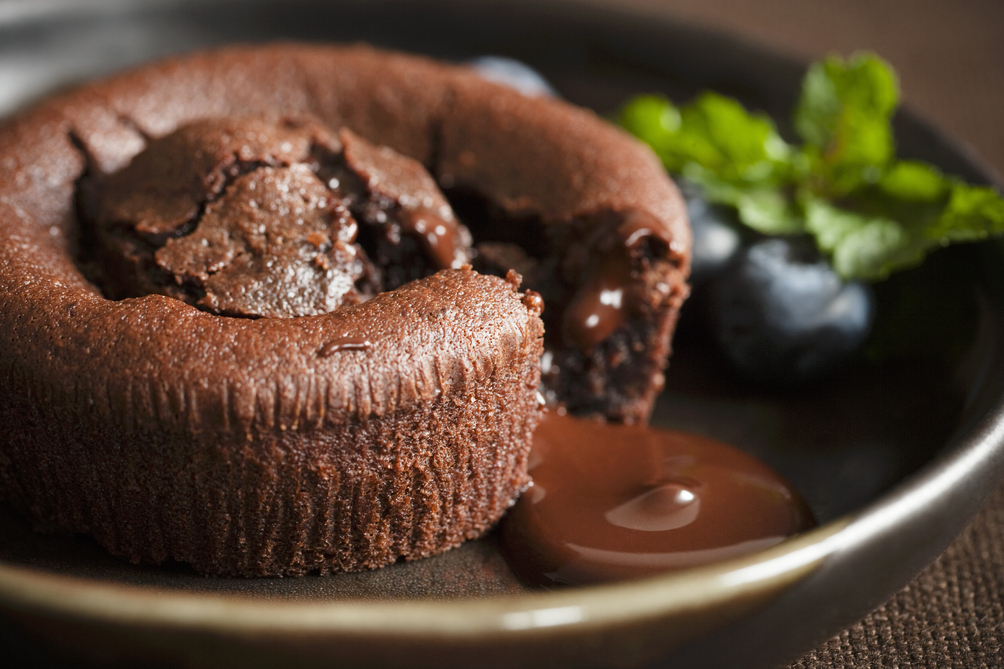 Mexican Hot Chocolate Lava Cakes