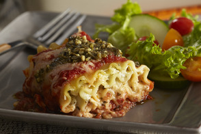 Pesto Lasagna Roll-Ups