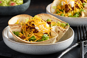Loaded Taco Salad Bowls
