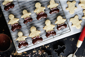Chocolate-Dipped Sugar Cookies