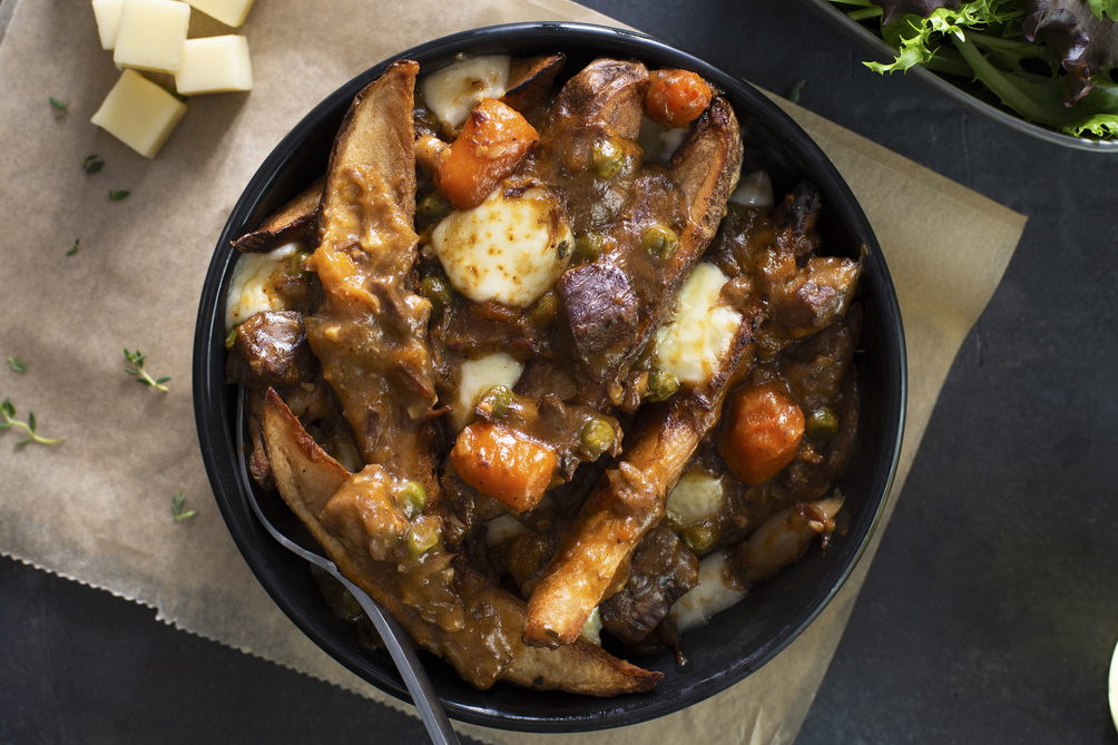 Beef Stew Poutine
