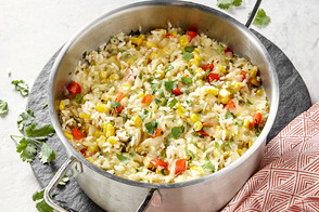 Cheesy Southwest Rice and Corn
