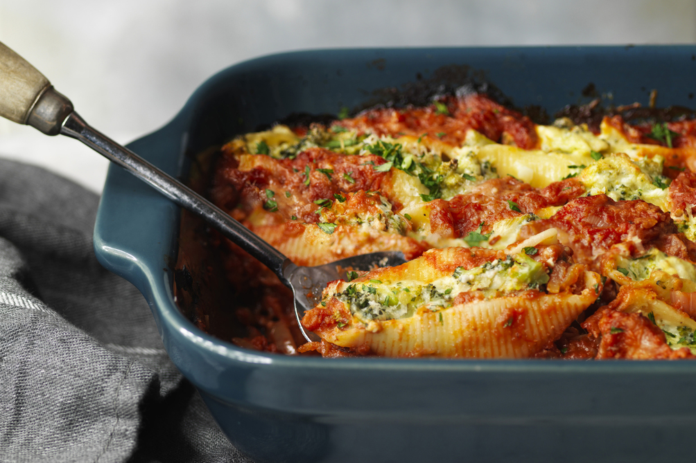 Broccoli-Ricotta Stuffed Shells