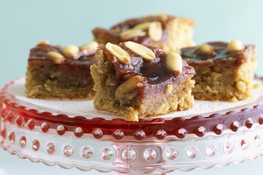 Peanut Butter and Jam Cookie Squares