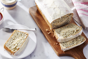 Lemon| Poppy Seed & Cream Cheese Loaf