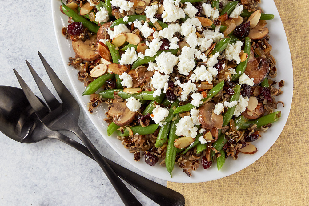 Green Bean and Wild Rice Salad