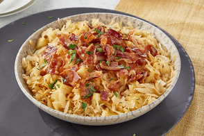 Apple-Bacon Sauerkraut