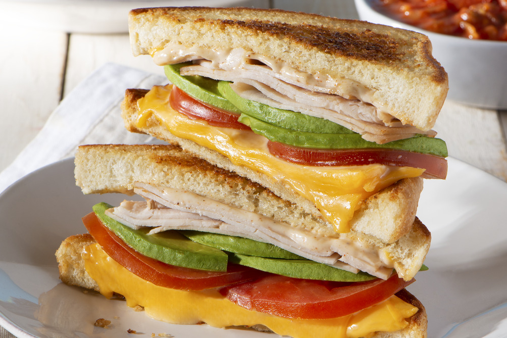 Tex-Mex Turkey Grilled Cheese