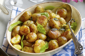 Roasted Potatoes and Sage