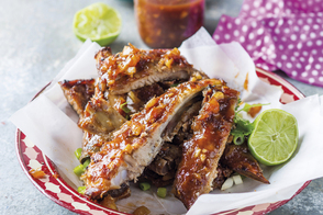 Sweet Chili-Lime Spareribs