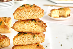 Smoked Salmon & Chive Scones