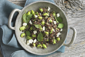 Quinoa and Mint Salad