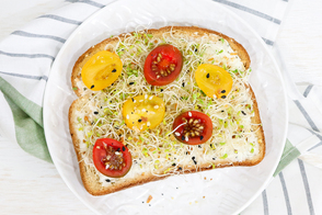 Garlic Garden Toast