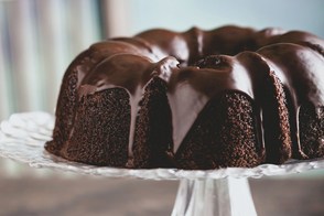 Double-Chocolate Cake with Ganache