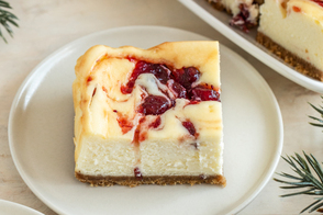 Cranberry Cheesecake Squares