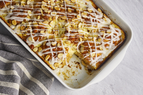 Easy Make-Ahead Cinnamon Roll Casserole